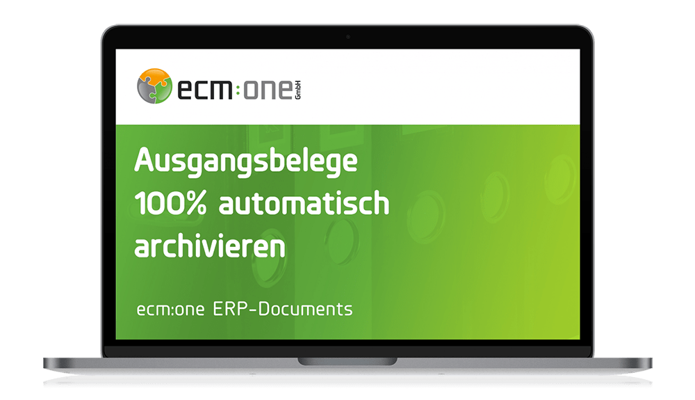 ecm:one Apps ERP-Documents