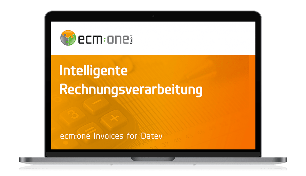 ecm:one Apps Invoices for Datev
